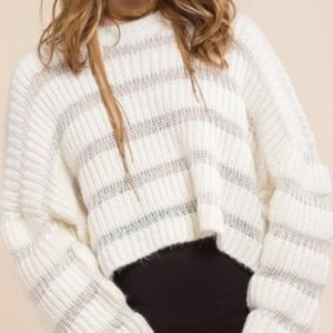 Moon River Variation Textured Sweater